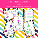 Rainbow Fractions Posters