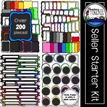 Seller Starter Clipart Bundle