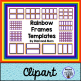 Rainbow Frames Templates
