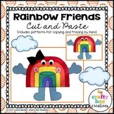 Rainbow Craft {Rainbow Friends}