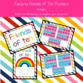 Rainbow Friends of Ten Posters