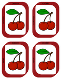Rainbow Fruit and Veggie Activity Cards