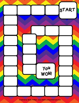 Rainbow Game Boards