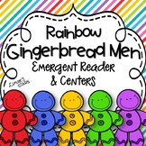 Rainbow Gingerbread Men Emergent Reader & Centers