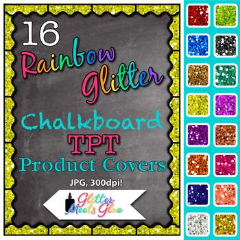 Chalkboard Product Covers Clip Art {Design Teachers Pay Teachers Resources} 2