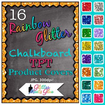 Chalkboard Product Covers Clip Art {Design Teachers Pay Teachers Resources} 1