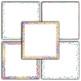 Rainbow Glitter Digital Paper Pack - Glitter Borders - 16 Different Papers-12x12