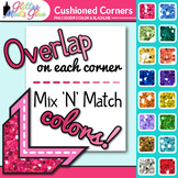 Cushioned Photo Corner Clip Art: Page Element Graphics {Glitter Meets Glue}
