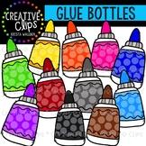 Rainbow Glue Bottle Clipart {Creative Clips Clipart}