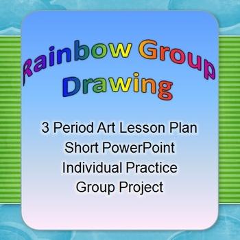 Rainbow Group Drawing