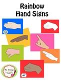 Rainbow Hand Signs