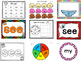 Rainbow Heart Word Activities for Word Work:  BUNDLE of Lists 1-20 (Levels A-E)