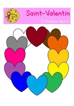 Rainbow Hearts - Coeurs