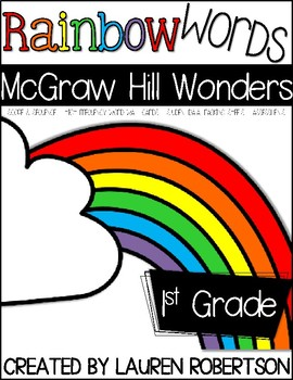 Rainbow High Frequency Words- A McGraw Hill Wonders HFW Sy