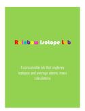 Rainbow Isotopes Lab