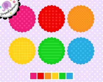 Rainbow Digital Journaling Spots