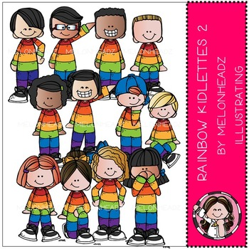 Rainbow Kidlettes 2 by Melonheadz COMBO PACK