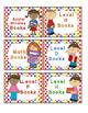 Rainbow Kids Leveled Book Labels