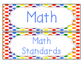 Rainbow Kids - Math, Reading and Writing Common Core Stand