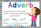 Rainbow Kids Parts of Speech Posters