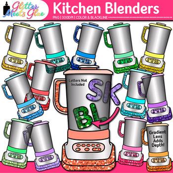 Blends and Digraph Blender Clip Art - Blending Words, ELA