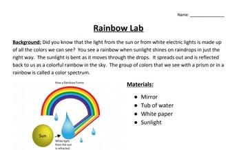 Rainbow Lab Activity