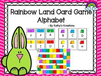 Rainbow Land Alphabet Card Game