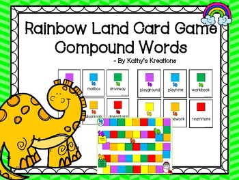 Rainbow Land Compound Words Game