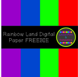 Rainbow Land Digital Paper Pack FREEBIE