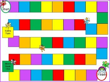 Rainbow Land Math Game