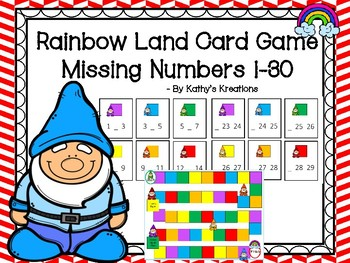 Rainbow Land Missing Number Game 1-30