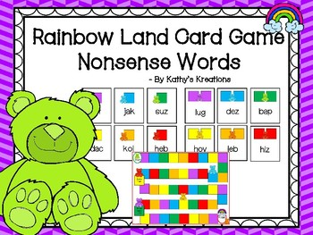 Rainbow Land Nonsense Words Game