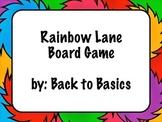 Rainbow Lane Board Game