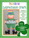 Rainbow Leprechaun Craft & Writing Activity