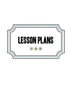 Rainbow Lesson Plan Book