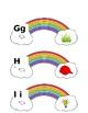 Rainbow Letter Match