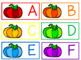 Rainbow Pumpkin Letter Match