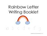 Rainbow Letter Writing Booklet