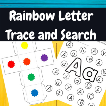 Back to School-Rainbow Letters
