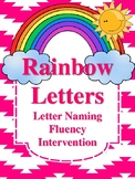 Rainbow Letters Letter Naming Fluency Intervention