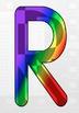 Rainbow Letters, Numbers, & Symbols