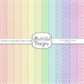 Rainbow Light Dots Paper Pack