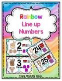 Rainbow Line up Numbers