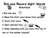 Rainbow List Sight Word Games (Reading Wonders)