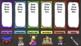 Rainbow Literacy & Math Station Rotation Automatic PowerPoint Bundle