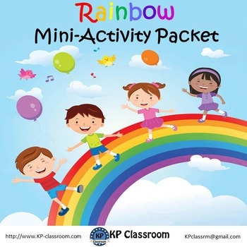 Rainbow Mini Activity Packet Freebie