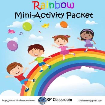 Rainbow Mini Activity Packet Freebie