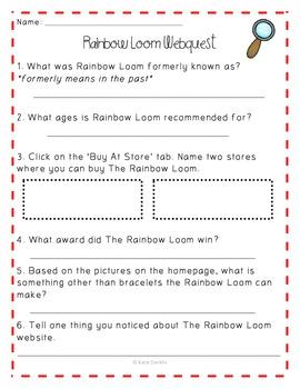 Rainbow Loom Learning