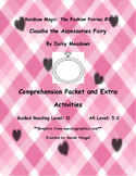 Rainbow Magic:Claudia the Accessories Fairy Daisy Meadows Comprehension Packet