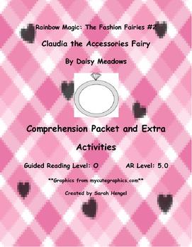 Rainbow Magic:Claudia the Accessories Fairy Daisy Meadows